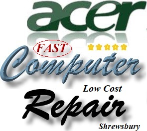Acer Shrewsbury Computer Repair Contact Phone Number