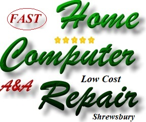 Fast, Qualified Shrewsbury Home Computer Repair