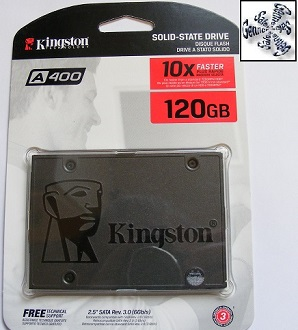 Shrewsbury Laptop Kingston Solid State Drive Installation