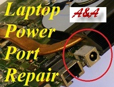 Salop Laptop Power Socket Repair and Upgrade