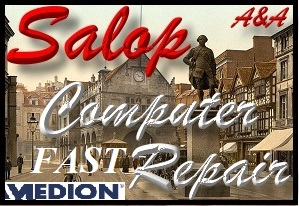 Medion Shrewsbury PC Repair, Medion Laptop Repair Salop