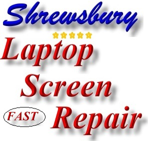 Shrewsbury Broken Laptop Screen Repair