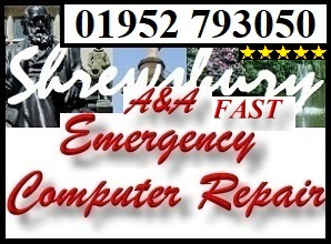 Emergency Shrewsbury Laptop Repair- Same Day PC Repair